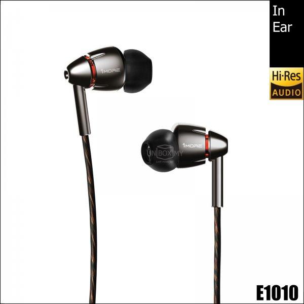 1MORE E1010 Quad Driver Hi-res In-Ear Headphones (Space Gray)