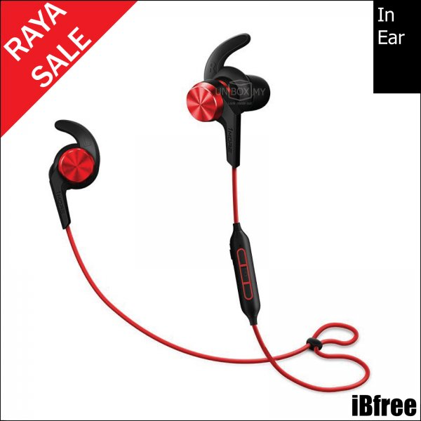 1MORE iBfree Bluetooth In-Ear Headphones (Red)