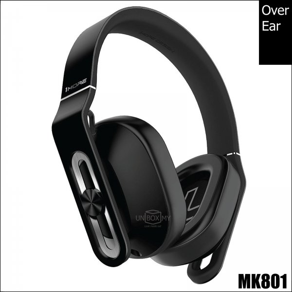 1MORE MK801 Over-Ear Headphones (Black)