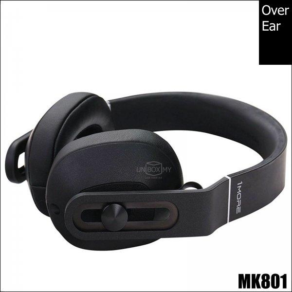 1MORE MK801 Over-Ear Headphones (Black)