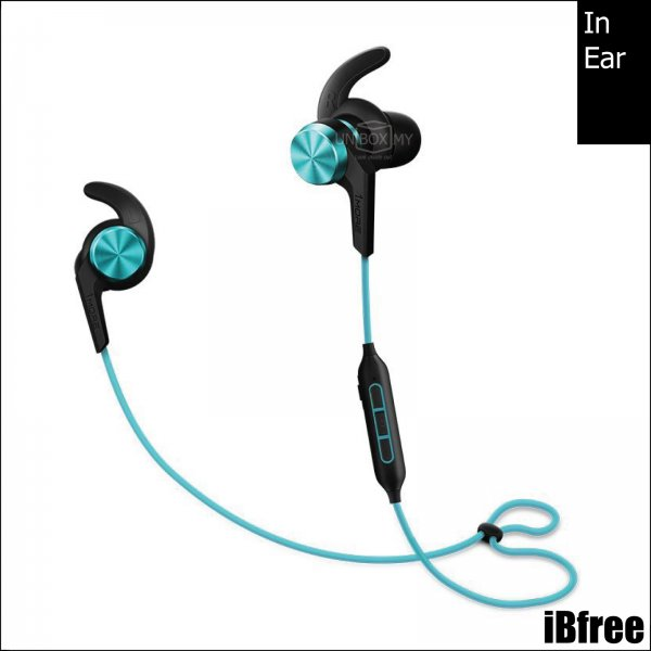 1MORE iBfree Bluetooth In-Ear Headphones (Aqua Blue)