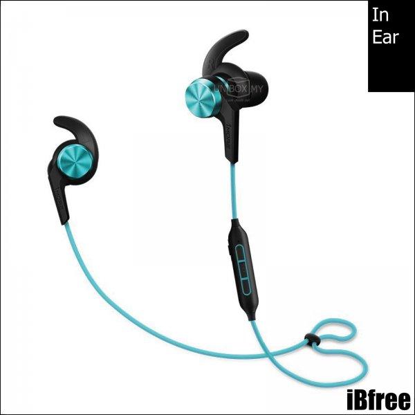 1MORE iBfree Bluetooth In-Ear Headphones (Aqua Blue)