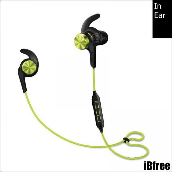 1MORE iBfree Bluetooth In-Ear Headphones (Green)