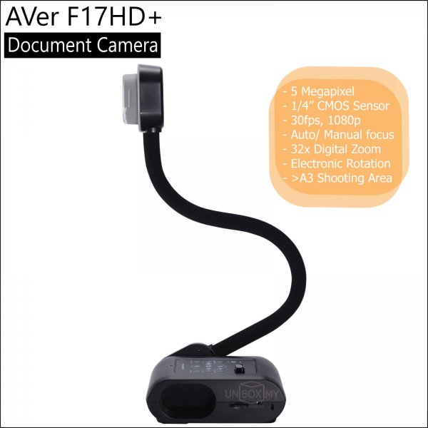 AVer F17HD+ 5-megapixels Full HD Document Camera