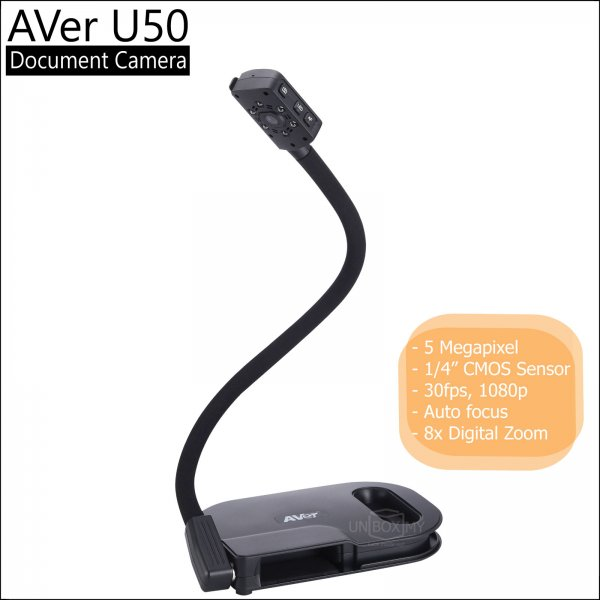 AVer U50 5-megapixels Full HD USB Document Camera