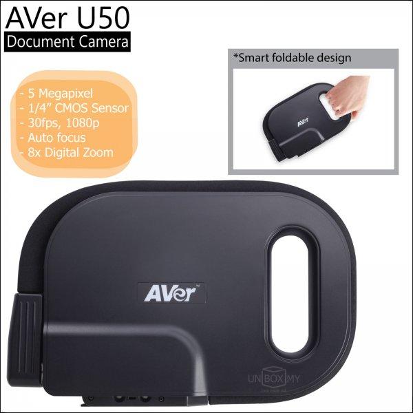 AVer U50 5-megapixels Full HD USB Document Camera
