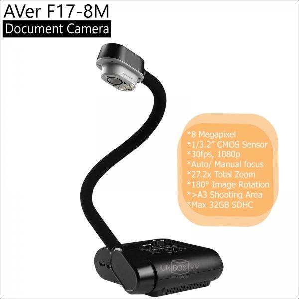 AVer F17-8M 8-megapixels Full HD Document Camera