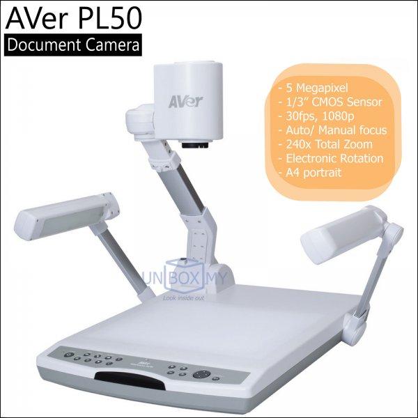 AVer PL50 5-megapixels Full HD Platform Document Camera