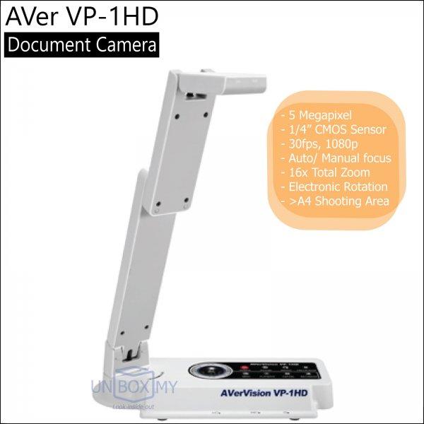 AVer VP-1HD 5-megapixels Full HD Document Camera