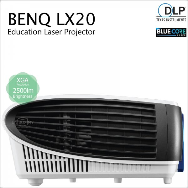 BENQ LX20 DLP BlueCore Laser XGA Education Projector
