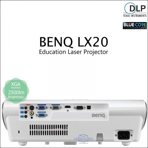 BENQ LX20 DLP BlueCore Laser XGA Education Projector