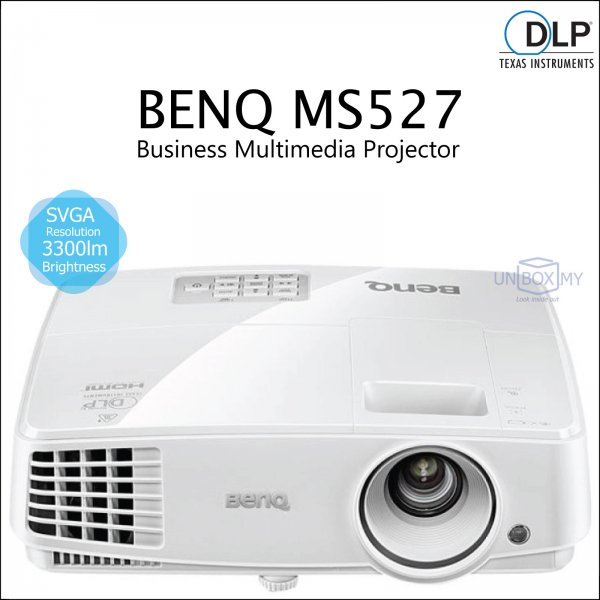 BENQ MS527 DLP SVGA Business Multimedia Projector