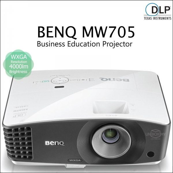BENQ MW705 DLP WXGA Business Education Projector