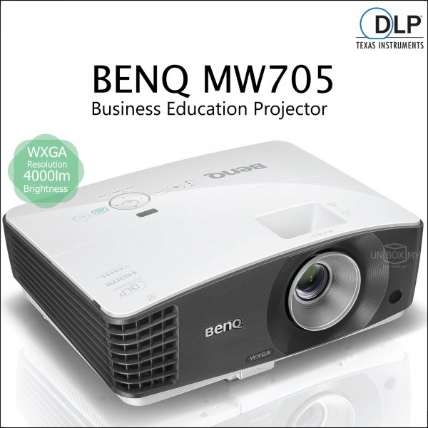 BENQ MW705 DLP WXGA Business Education Projector