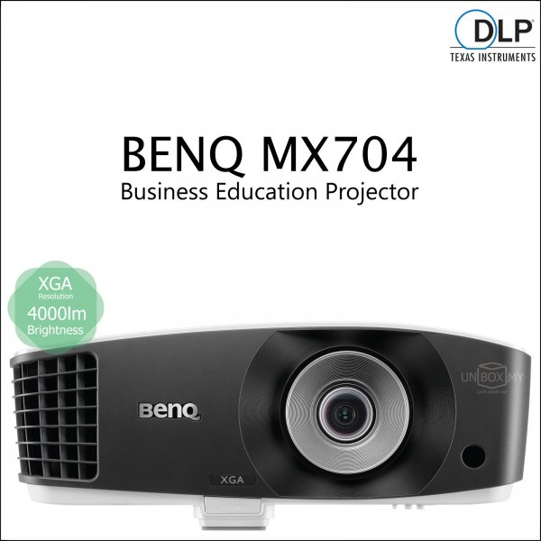 BENQ MX704 DLP XGA Business Education Projector