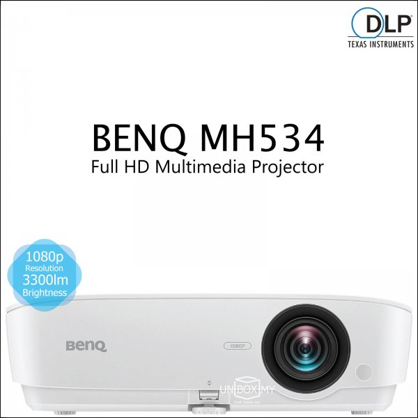 BENQ MH534 DLP Full HD 1080p Business Multimedia Projector