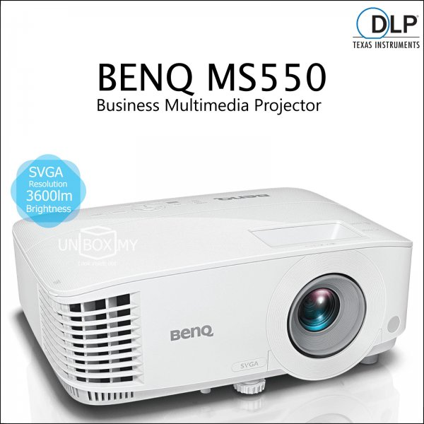 BENQ MS550 DLP SVGA Business Multimedia Projector