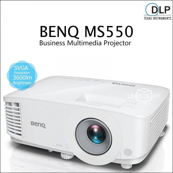 BENQ MS550 DLP SVGA Business Multimedia Projector