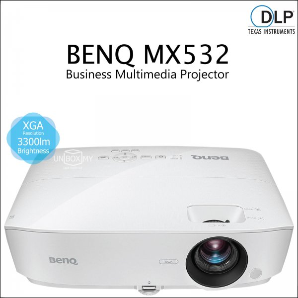 BENQ MX532 DLP XGA Business Multimedia Projector