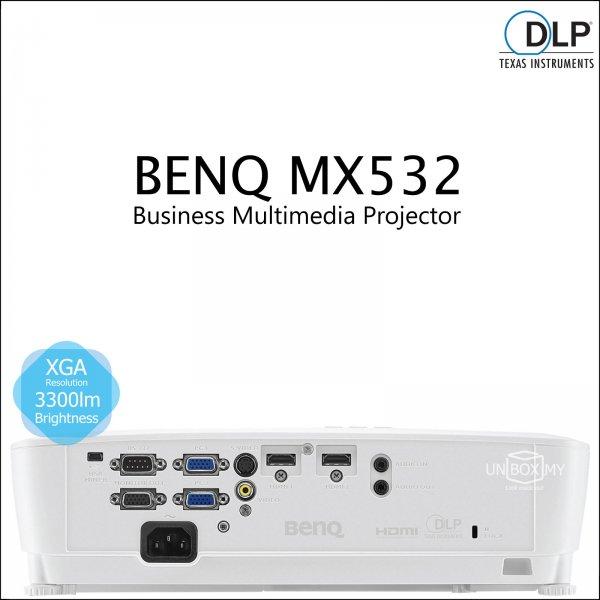 BENQ MX532 DLP XGA Business Multimedia Projector