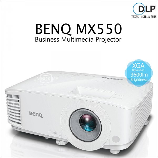 BENQ MX550 DLP XGA Business Multimedia Projector