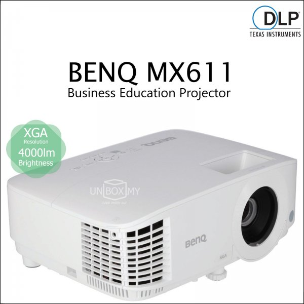 BENQ MX611 DLP XGA Business Education Projector