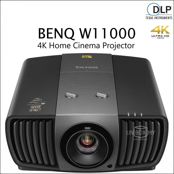 BENQ W11000 DLP 4K Ultra HD Home Theater Projector