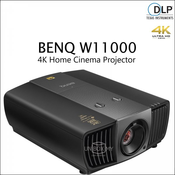 BENQ W11000 DLP 4K Ultra HD Home Theater Projector