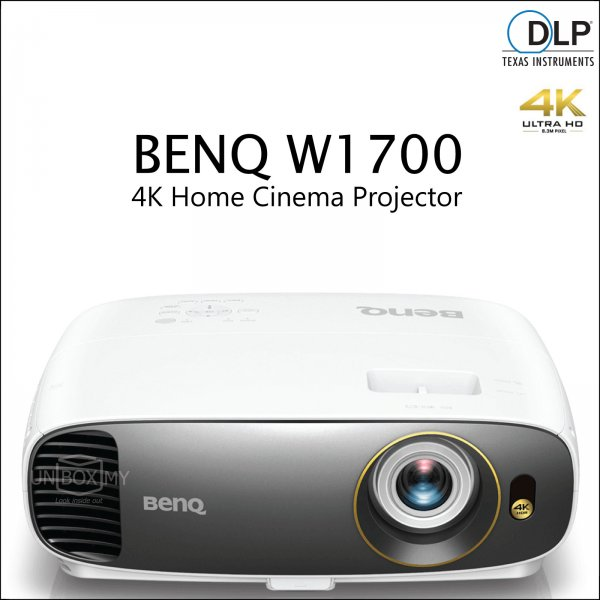 BENQ W1700 DLP 4K Ultra HD Home Theater Projector
