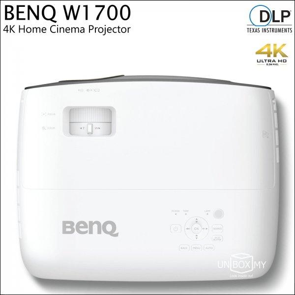 BENQ W1700 DLP 4K Ultra HD Home Theater Projector