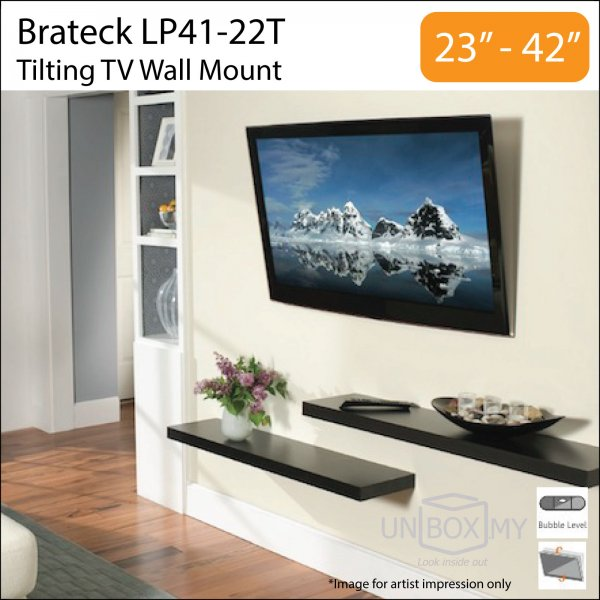 Brateck LP41-22T 23-42 inch Tilt TV Wall Mount