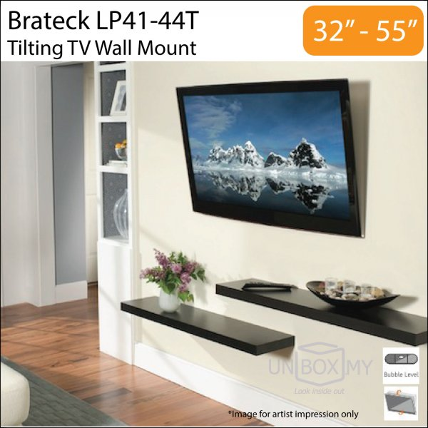 Brateck LP41-44T 32-55 inch Tilt TV Wall Mount