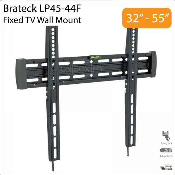 Brateck LP45-44F 32-55 inch Fixed TV Wall Mount