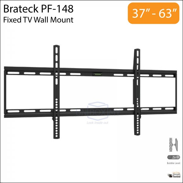Brateck PF-148 37-63 inch Slim Fixed TV Wall Mount