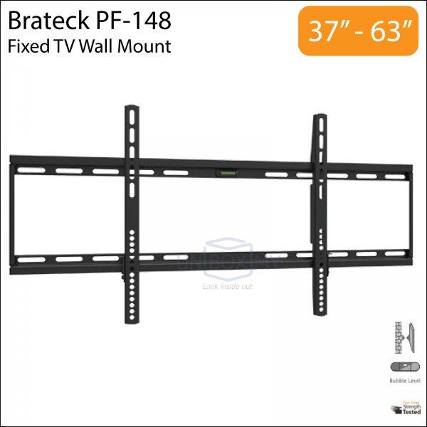Brateck PF-148 37-63 inch Slim Fixed TV Wall Mount