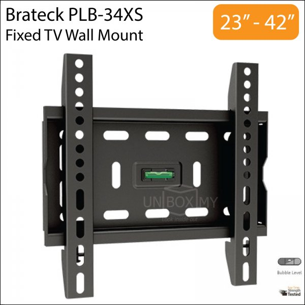 Brateck PLB-34XS 23-42 inch Fixed TV Wall Mount