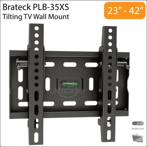 Brateck PLB-35XS 23-42 inch Tilt TV Wall Mount