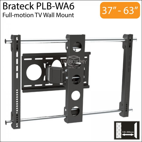 Brateck PLB-WA6 37-63 inch Cantilever Full-motion TV Wall Mount