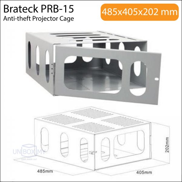 Brateck PRB-15 Anti-theft Projector Cage