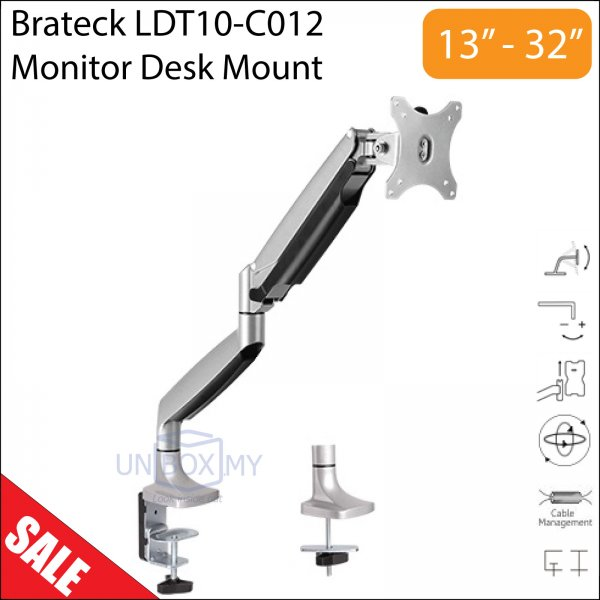 Brateck LDT10-C012 13-32 inch LCD Monitor Desk Mount Stand
