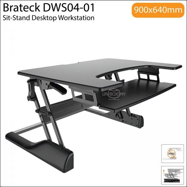Brateck DWS04-01 Sit-Stand Desktop Workstation Stand