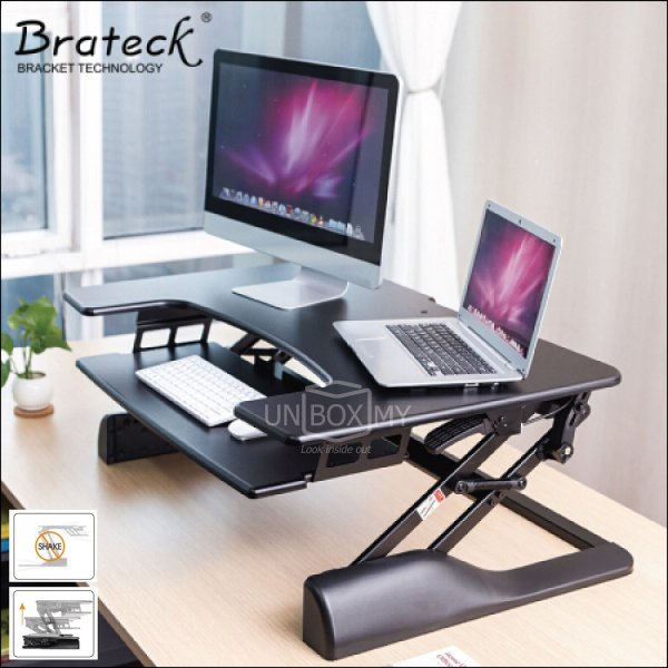 Brateck DWS04-01 Sit-Stand Desktop Workstation Stand