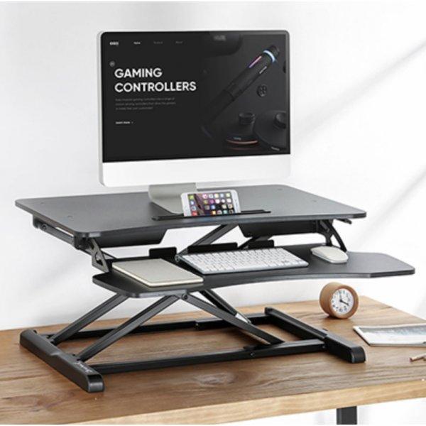 Brateck DWS28-01 Sit-Stand Desktop Workstation Stand