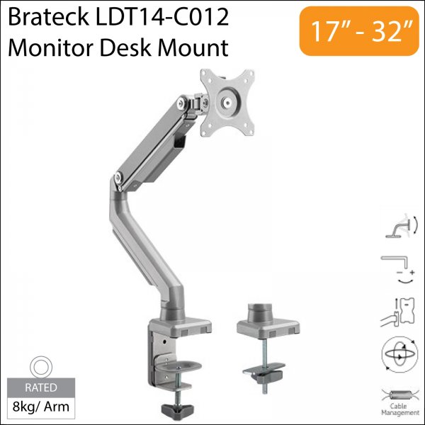 Brateck LDT14-C012 17-32 inch LCD Monitor Desk Mount Stand
