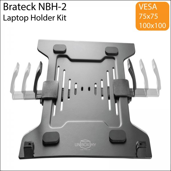 Brateck NBH-2 Steel VESA Laptop Holder Kit