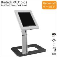 Brateck PAD15-02 Anti-Theft Tablet iPad Desk Stand