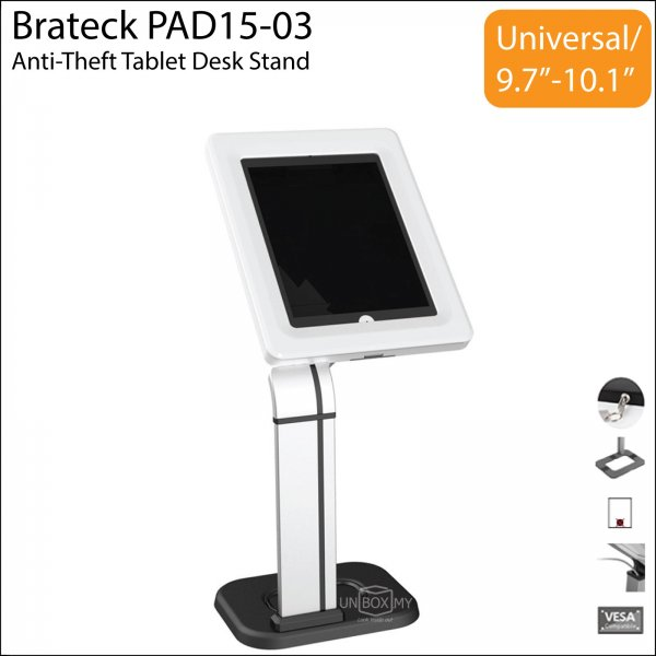 Brateck PAD1503 Tablet iPad Desk Stand UNBOXMY