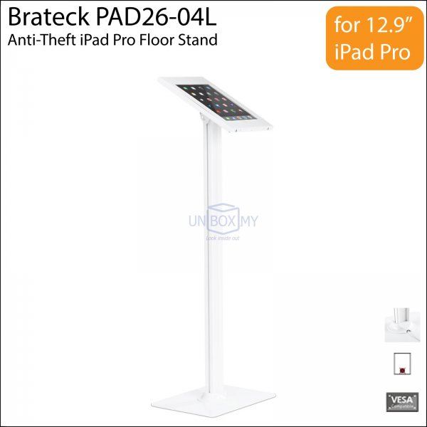 Brateck PAD26-04L Anti-Theft iPad Pro Floor Stand