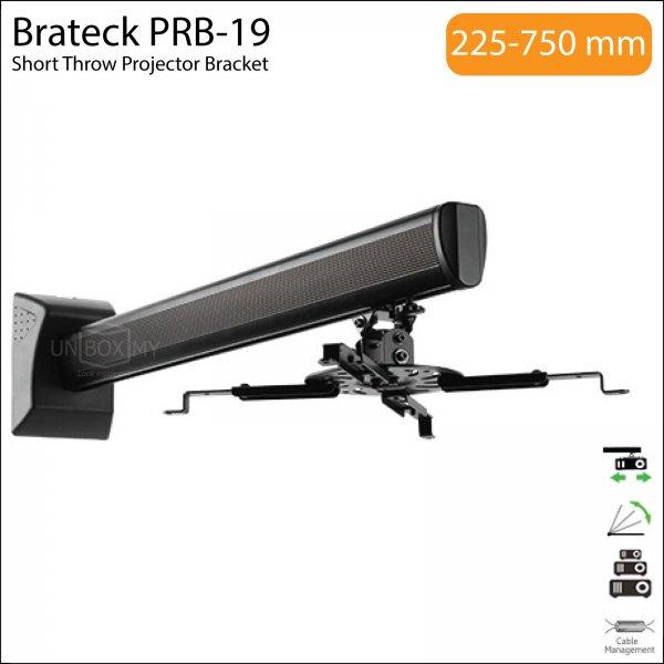 Brateck PRB-19 Universal Short Throw Projector Bracket Mount
