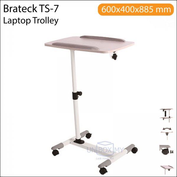 Brateck TS-7 Laptop Projector Trolley Cart Stand